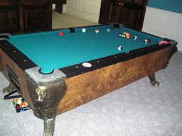 Pool table disposal